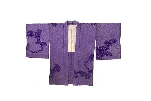 HAORI Purple Shibori