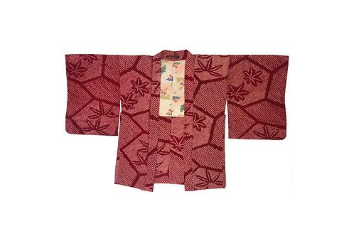 HAORI Red Star Shibori