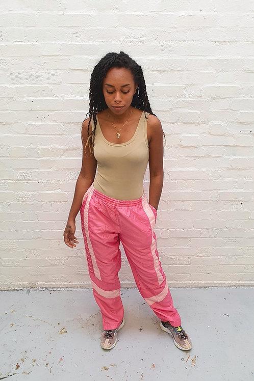 Vintage Pink Arena Track Pants