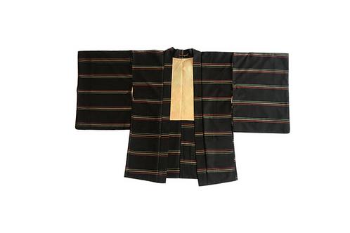 HAORI Silk Rasta Stripe