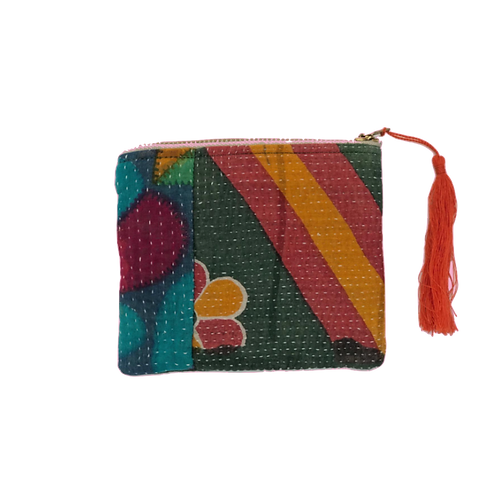 SAIFU Kantha Coin Purse