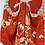 Thumbnail: MOTTAINAI Orange Silk Camisole