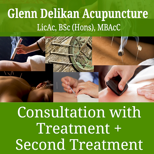 Consultation with treatment + a second treatment session