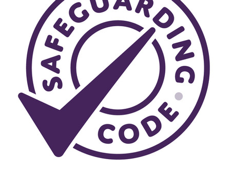 Awarded Safeguarding code