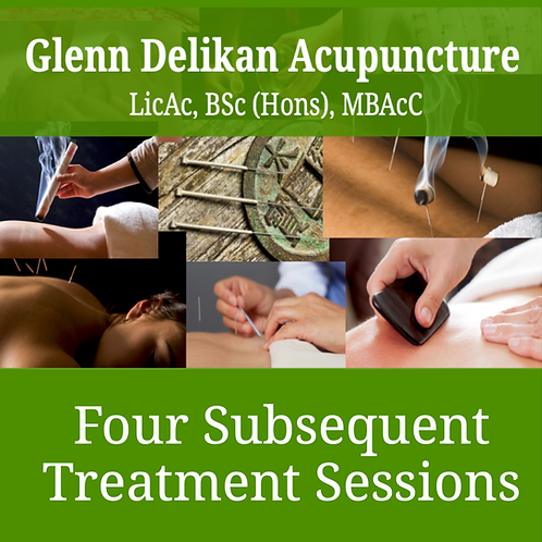 Four subsequent treatment sessions