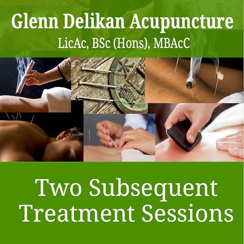 Two subsequent treatment sessions