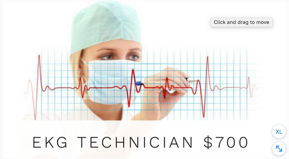 Cultural Technical Institute, EKG Technician, El Paso, Texas.