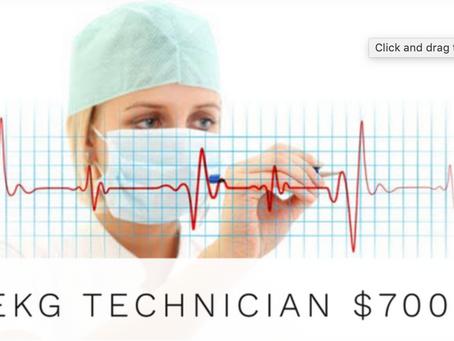 EKG Technician, Promo