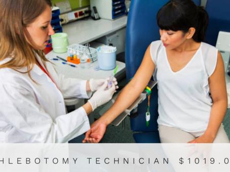 Phlebotomy Technician, Promo