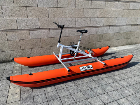 バイクSUP(水上自転車)の魅力!