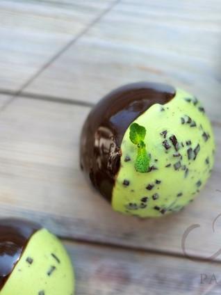 """Пирожное """"Мята-шоколад"""""""