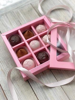 Подарочный набор конфет и трюфелей 9 шт.