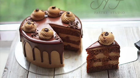 Видеоурок по торту Мокко
