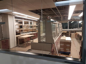 Our lab under construction (2018)