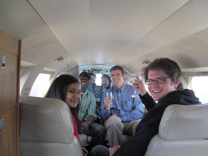 A private flight through rockies (CSC 2014, Calgary)
