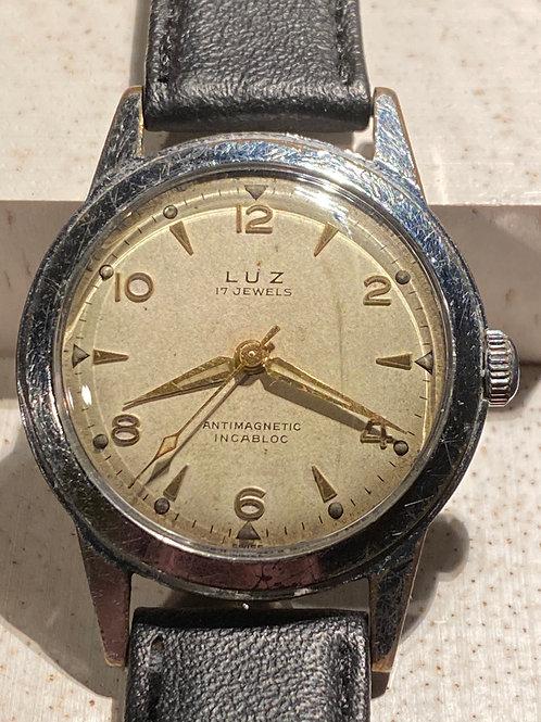 1950's Luz Gents Dress Watch