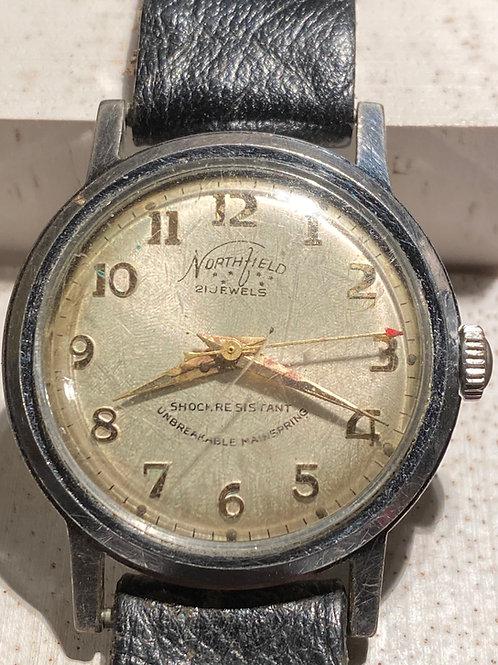 1950's Northfield Gents Dress Watch