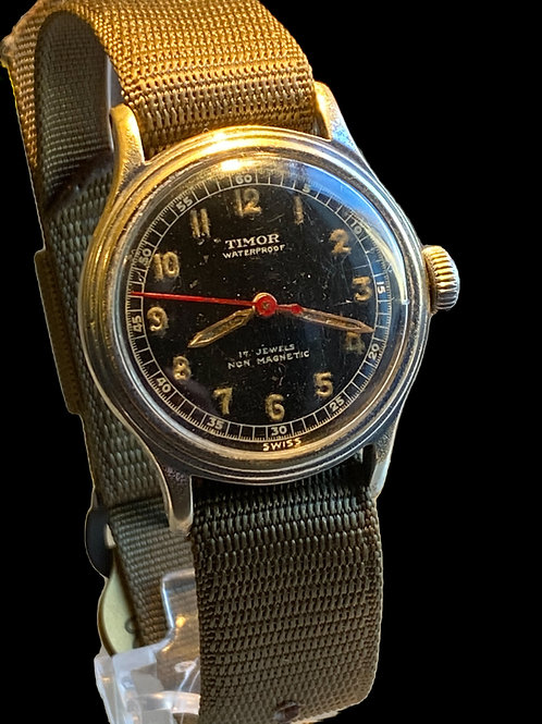 1940's Timor Military Gents Watch