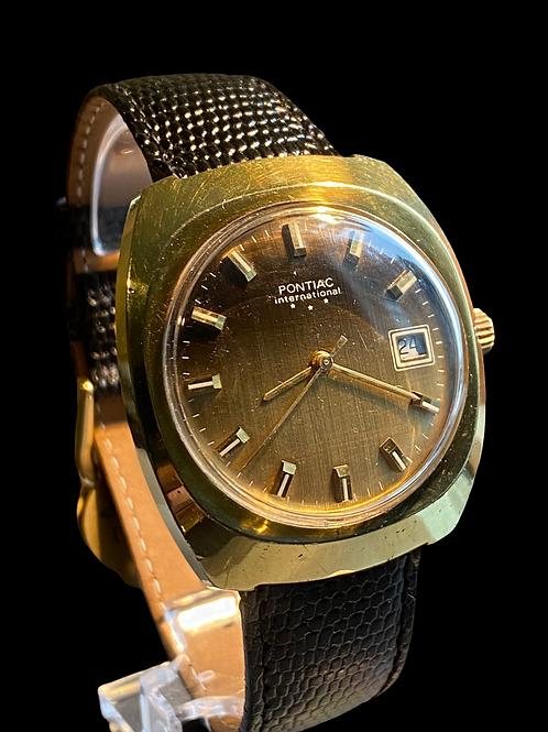 1970's Pontiac Gents Dress Watch