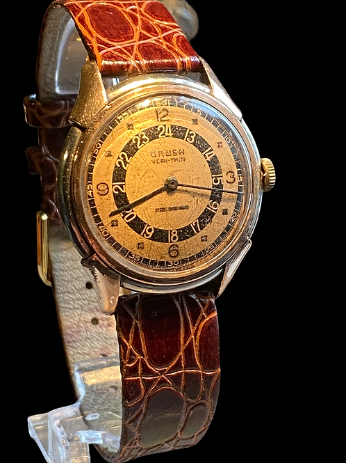 WW2 Gruen Precision Pan Am Pilots Watch
