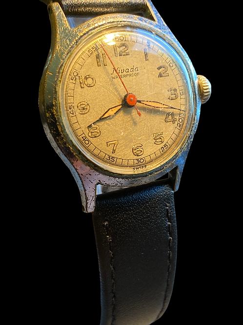 1940's Nivada Gents Military Watch