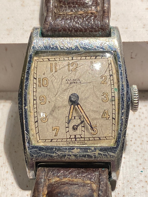 1930's Olma Gents Dress Watch