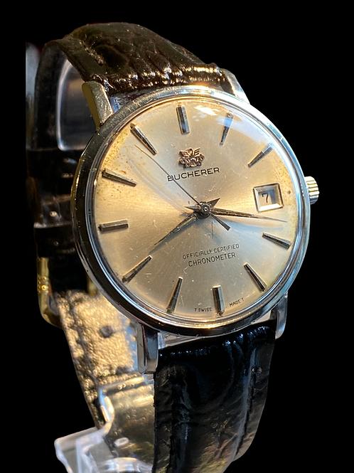 1960's Bucherer Gents Chronometer Dress Watch
