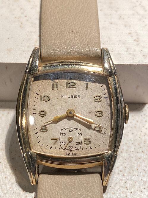 1950's Milber Gents Dress Watch