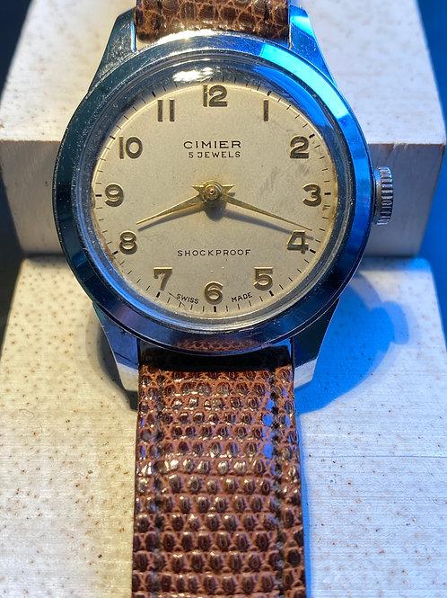 1960's Cimier Gents Dress Watch