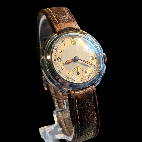 1930's Unbranded Mid Size Gents Dress Watch