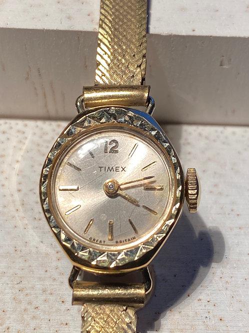 1960's Ladies Timex Dress Watch on Bracelet