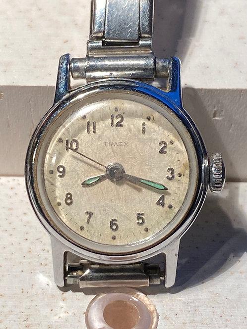 1960's Timex Ladies Dress Watch on Bracelet