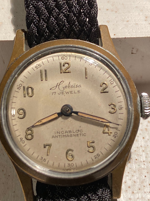 1950's Heliosa Gents Military Style Watch