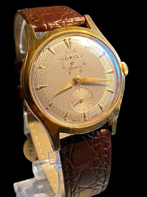 1950's Oris Power Reserve Gents Automatic Dress Watch