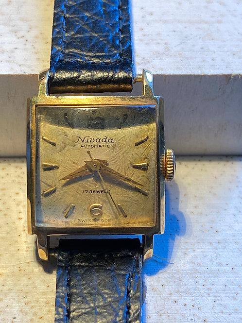 1960's Nivada Ladies Automatic Dress Watch