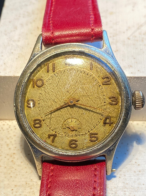 Late 1940's Unbranded Gents Dress Watch