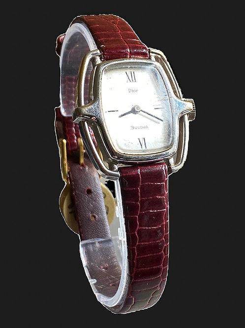1976 Dior By Bulova Ladies Dress Watch