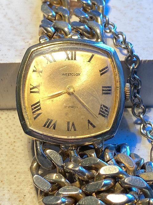 1970's Westclox Unisex Bracelet Watch
