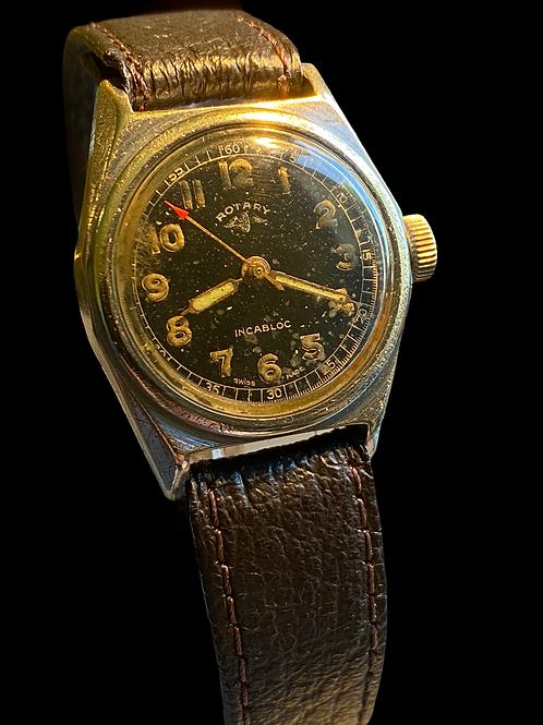 WW2 Rotary Gents Military Watch