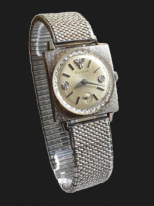 1966 Bulova Diamond Excellency Gents Gemset Dress Watch