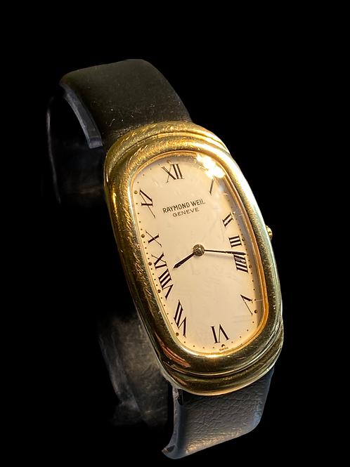 1990's Raymond Weil Unisex Watch Model Ref 375