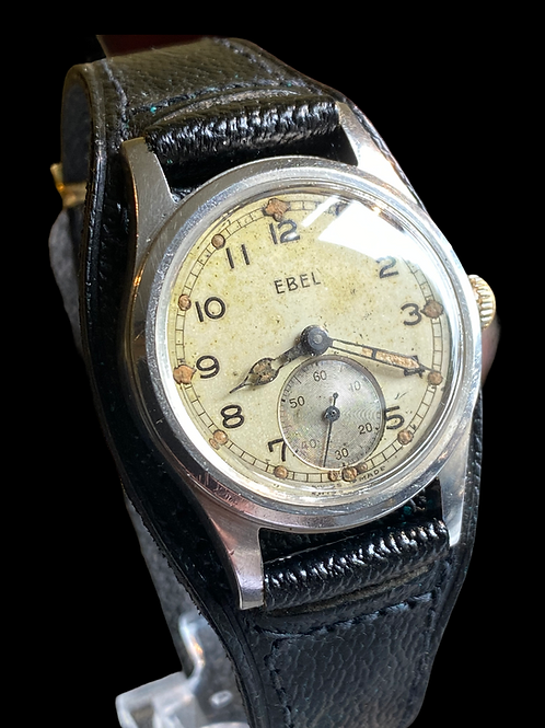 WW2 Ebel Ministry Of Defence issued APT Gents Military Watch