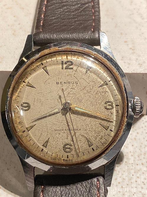1950's Gents Benrus Gents Dress Watch