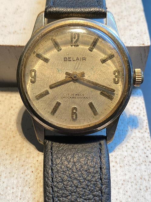 1960's Belair Gents Dress Watch