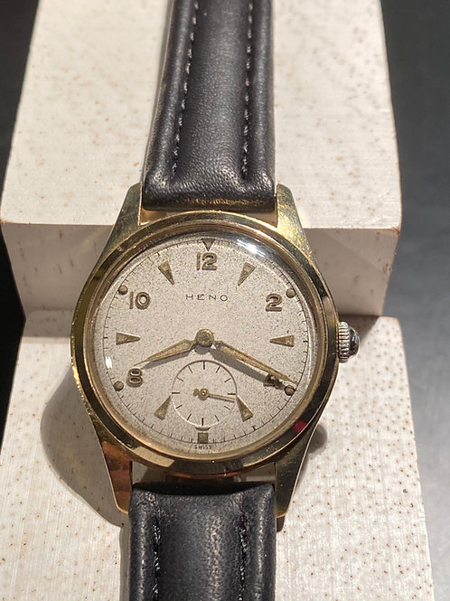 1950's Heno Gents Dress Watch