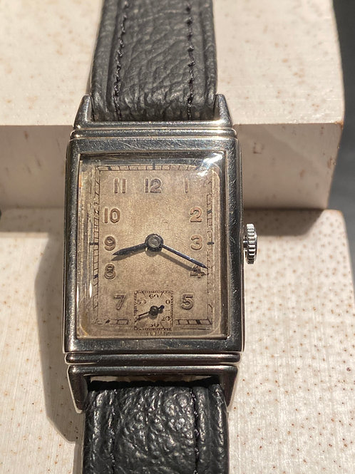 1930's  Unbranded Gents Dress Watch on strap
