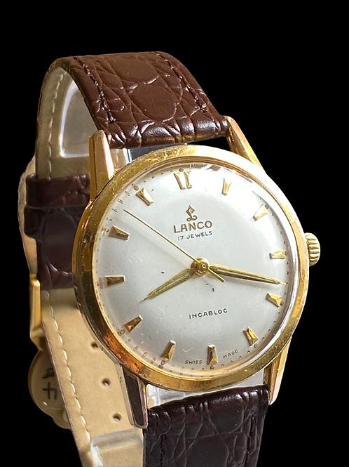 1960's Lanco Gents Dress Watch