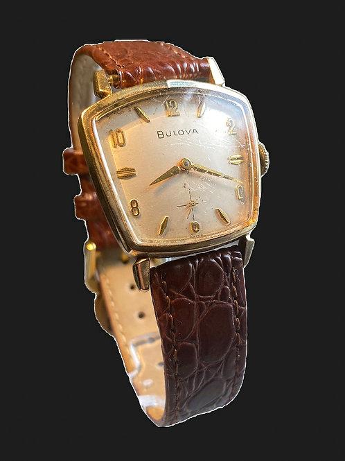 1960 Bulova American Eagle Asymetrical Gents Dress Watch