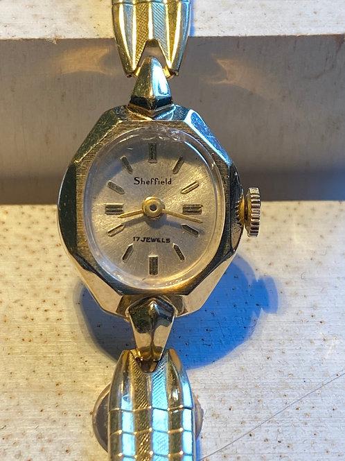 1960's Sheffield Ladies Bracelet Watch