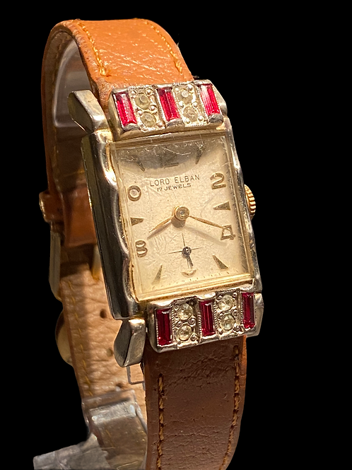 1950's Lord Elban Gents Cocktail Watch